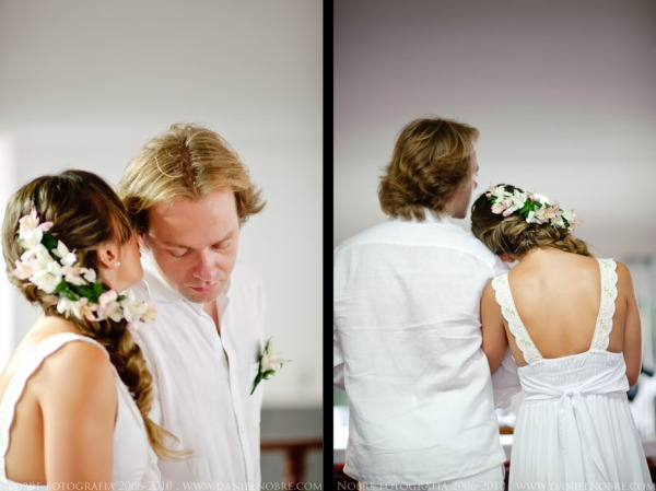 Ideias de penteados com tranças para noivas